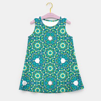 Thumbnail image of TRIBE PATTERN Girl's Summer Dress, Live Heroes