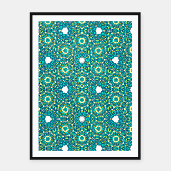 Thumbnail image of TRIBE PATTERN Framed poster, Live Heroes