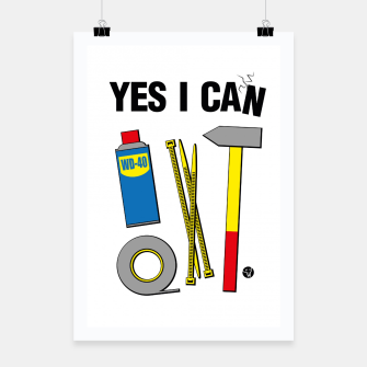 Thumbnail image of Yes I Can Plakat, Live Heroes
