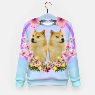 Thumbnail image of Shibaesthetic Kid's sweater, Live Heroes