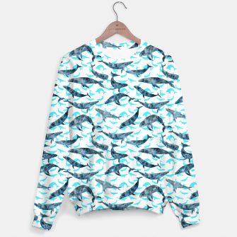 "Miniatur ""Whales"" Sudadera, Live Heroes"