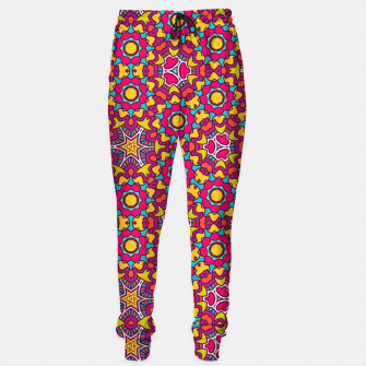 Thumbnail image of GYPSY PATTERN Sweatpants, Live Heroes