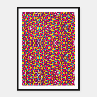 Thumbnail image of GYPSY PATTERN Framed poster, Live Heroes