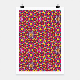 Thumbnail image of GYPSY PATTERN Poster, Live Heroes