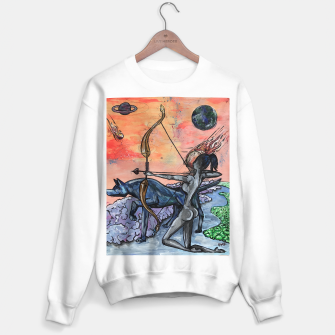 Thumbnail image of Warriors Crewneck Sweater /White, Live Heroes
