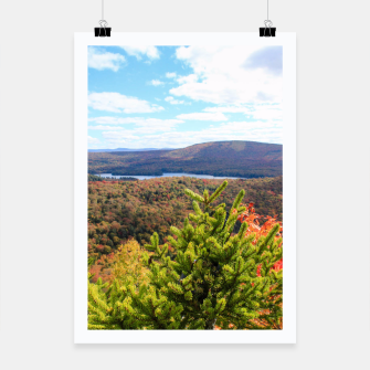 Thumbnail image of Fall Mountain View Poster, Live Heroes