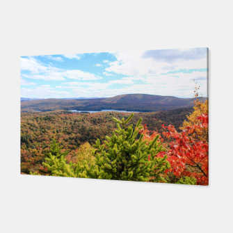 Thumbnail image of Fall Mountain View Canvas, Live Heroes