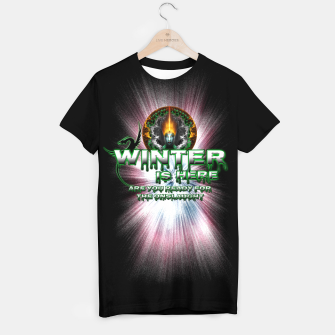 Thumbnail image of Game Of Thrones - Winter Is Here T-shirt, Live Heroes