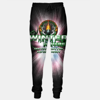 Thumbnail image of Game Of Thrones - Winter Is Here Sweatpants, Live Heroes