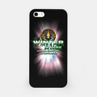 Thumbnail image of Game Of Thrones - Winter Is Here iPhone Case, Live Heroes