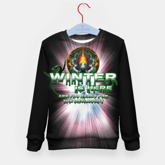 Thumbnail image of Game Of Thrones - Winter Is Here Kid's Sweater, Live Heroes