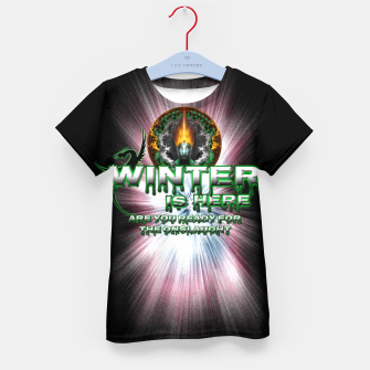 Thumbnail image of Game Of Thrones - Winter Is Here Kid's T-shirt, Live Heroes