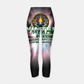 Thumbnail image of Game Of Thrones - Winter Is Here Yoga Pants, Live Heroes