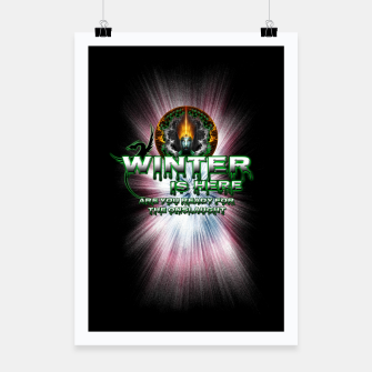 Thumbnail image of Game Of Thrones - Winter Is Here Poster, Live Heroes