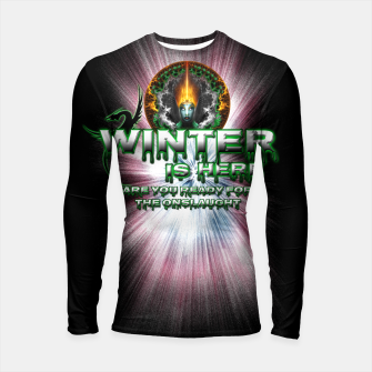 Thumbnail image of Game Of Thrones - Winter Is Here Longsleeve Rashguard , Live Heroes
