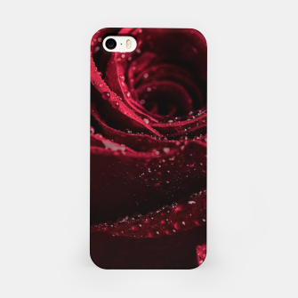 Thumbnail image of Burgundy Rose iPhone Case, Live Heroes