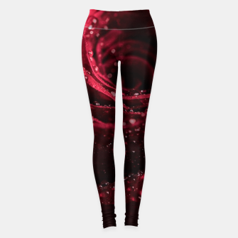 Thumbnail image of Burgundy Rose Leggings, Live Heroes