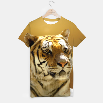 Thumbnail image of Golden Tiger T-shirt, Live Heroes