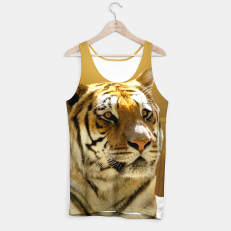 Thumbnail image of Golden Tiger Tank Top, Live Heroes