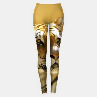 Thumbnail image of Golden Tiger Leggings, Live Heroes