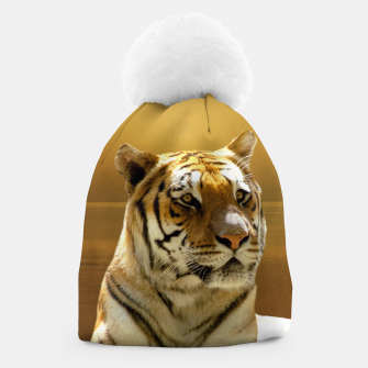 Thumbnail image of Golden Tiger Beanie, Live Heroes