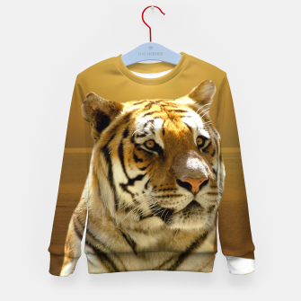 Thumbnail image of Golden Tiger Kid's Sweater, Live Heroes
