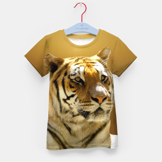Thumbnail image of Golden Tiger Kid's T-shirt, Live Heroes