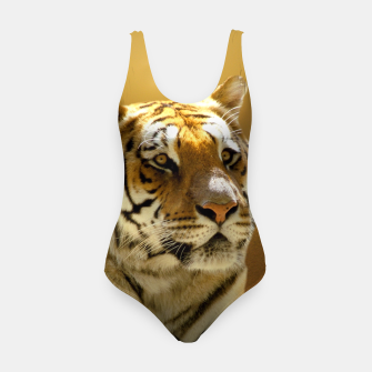 Thumbnail image of Golden Tiger Swimsuit, Live Heroes