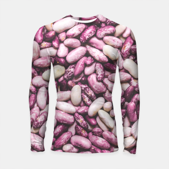 Shiny white and purple cool beans Longsleeve Rashguard  thumbnail image