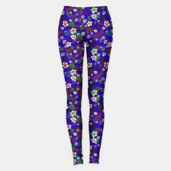 Thumbnail image of Graphic floral Leggings, Live Heroes