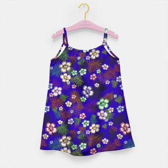 Thumbnail image of Graphic floral Girl's Dress, Live Heroes