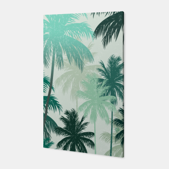 Thumbnail image of Summer Palm trees  Canvas, Live Heroes