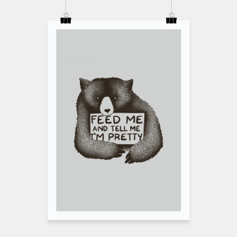 Miniatur Feed Me And Tell Me Im Pretty Poster, Live Heroes