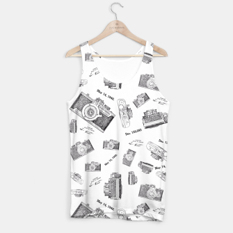 Miniatur camera photo Tank Top, Live Heroes