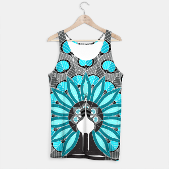 Thumbnail image of Blooming Peafowl Tank Top, Live Heroes