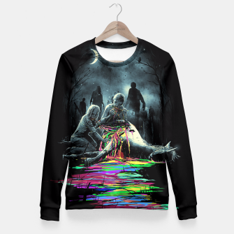 Thumbnail image of Midnight Snack Fitted Waist Sweater, Live Heroes
