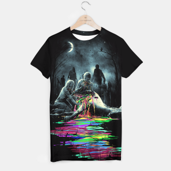 Thumbnail image of Midnight Snack T-shirt, Live Heroes