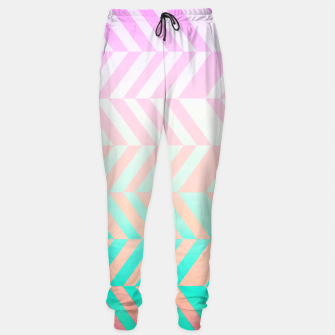 Thumbnail image of Chevron pattern Sweatpants, Live Heroes