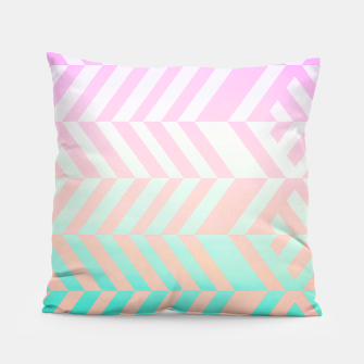 Thumbnail image of Chevron pattern Pillow, Live Heroes