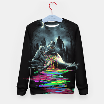 Thumbnail image of Midnight Snack Kid's Sweater, Live Heroes