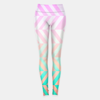 Thumbnail image of Chevron pattern Leggings, Live Heroes