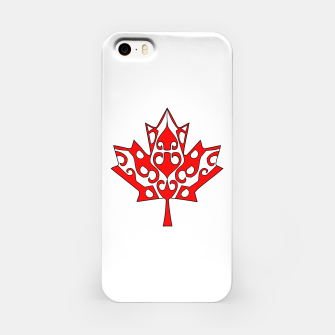 Thumbnail image of Maple Leaf iPhone Case, Live Heroes