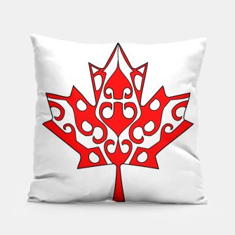 Thumbnail image of Maple Leaf Pillow, Live Heroes