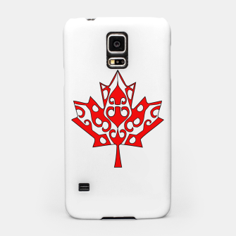 Thumbnail image of Maple Leaf Samsung Case, Live Heroes