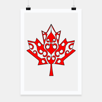Thumbnail image of Maple Leaf Poster, Live Heroes