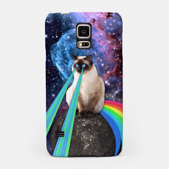 Thumbnail image of SIAMESE LASER CAT Samsung Case, Live Heroes