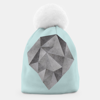 Thumbnail image of Gray stone Beanie, Live Heroes