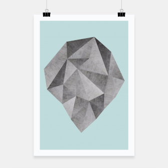 Miniatur Gray stone Poster, Live Heroes