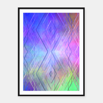 Thumbnail image of Ethereal Logic Framed poster, Live Heroes