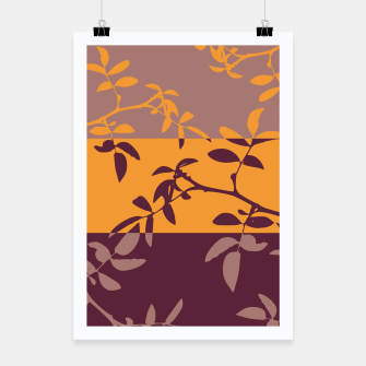 Miniatur Inverted Nature Poster, Live Heroes